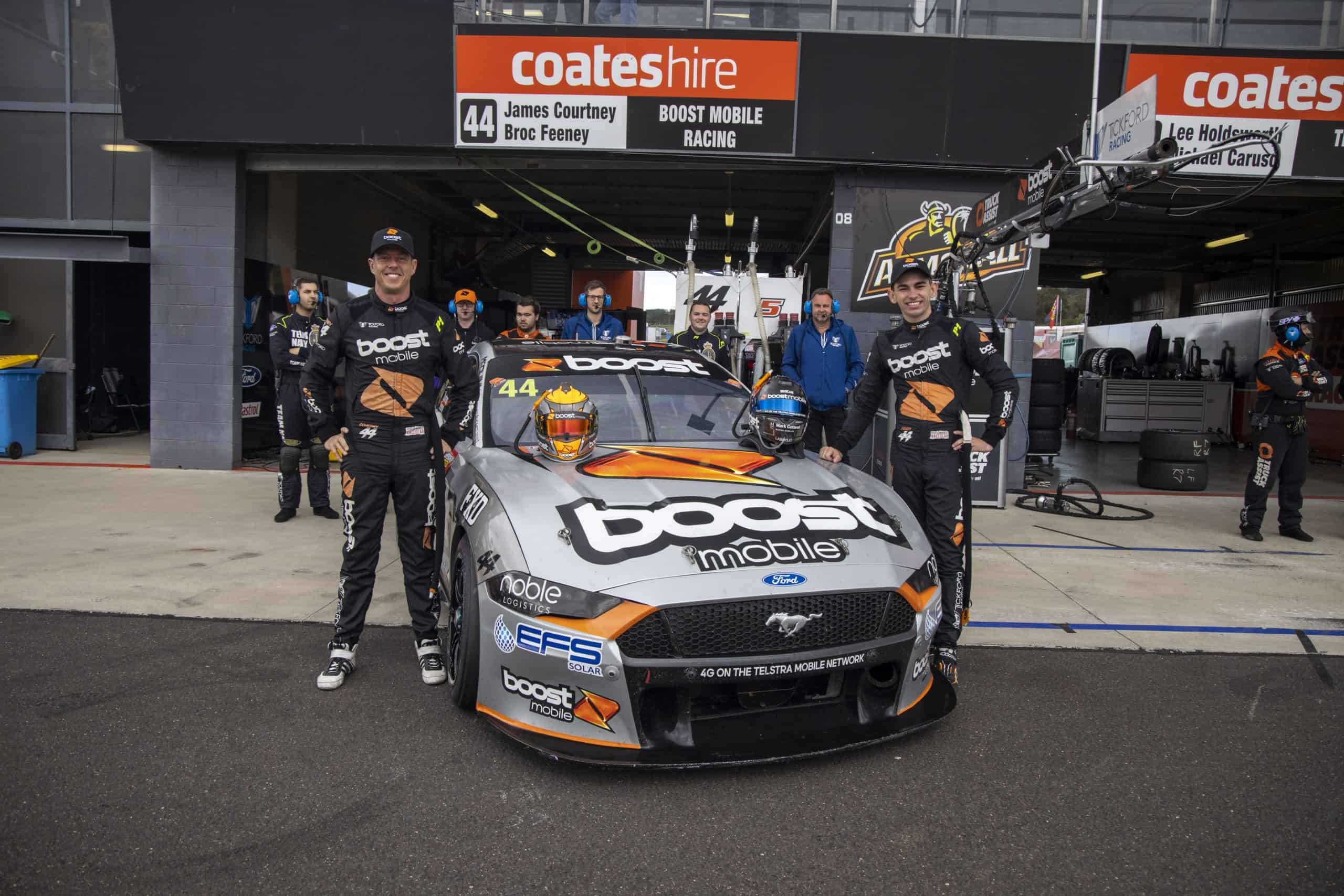 Courtney, Boost Mobile to continue with Tickford