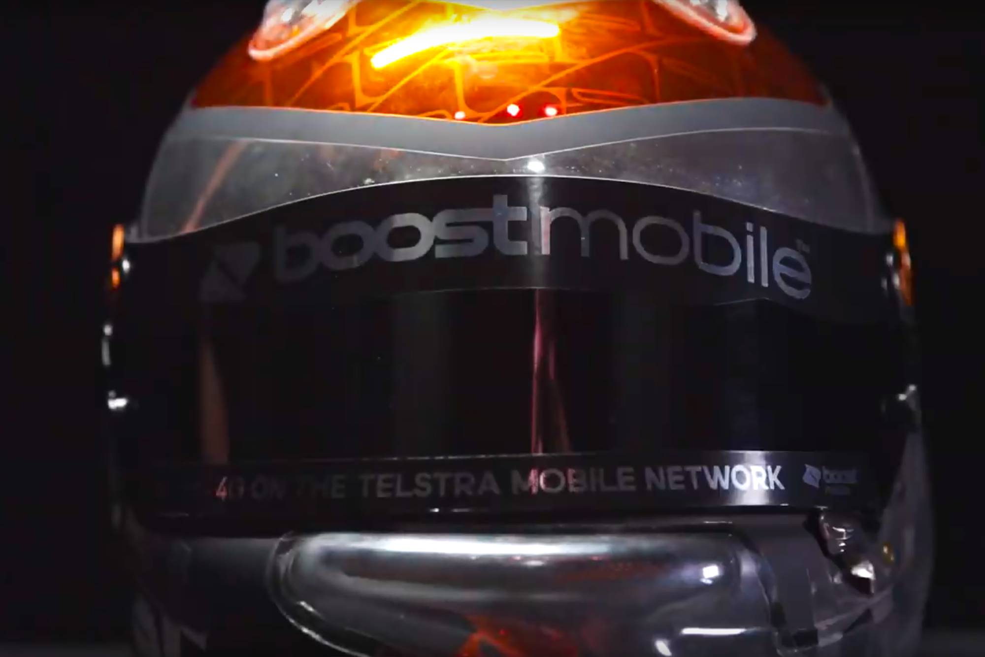 Boost Mobile Racing – Helmet Reveals