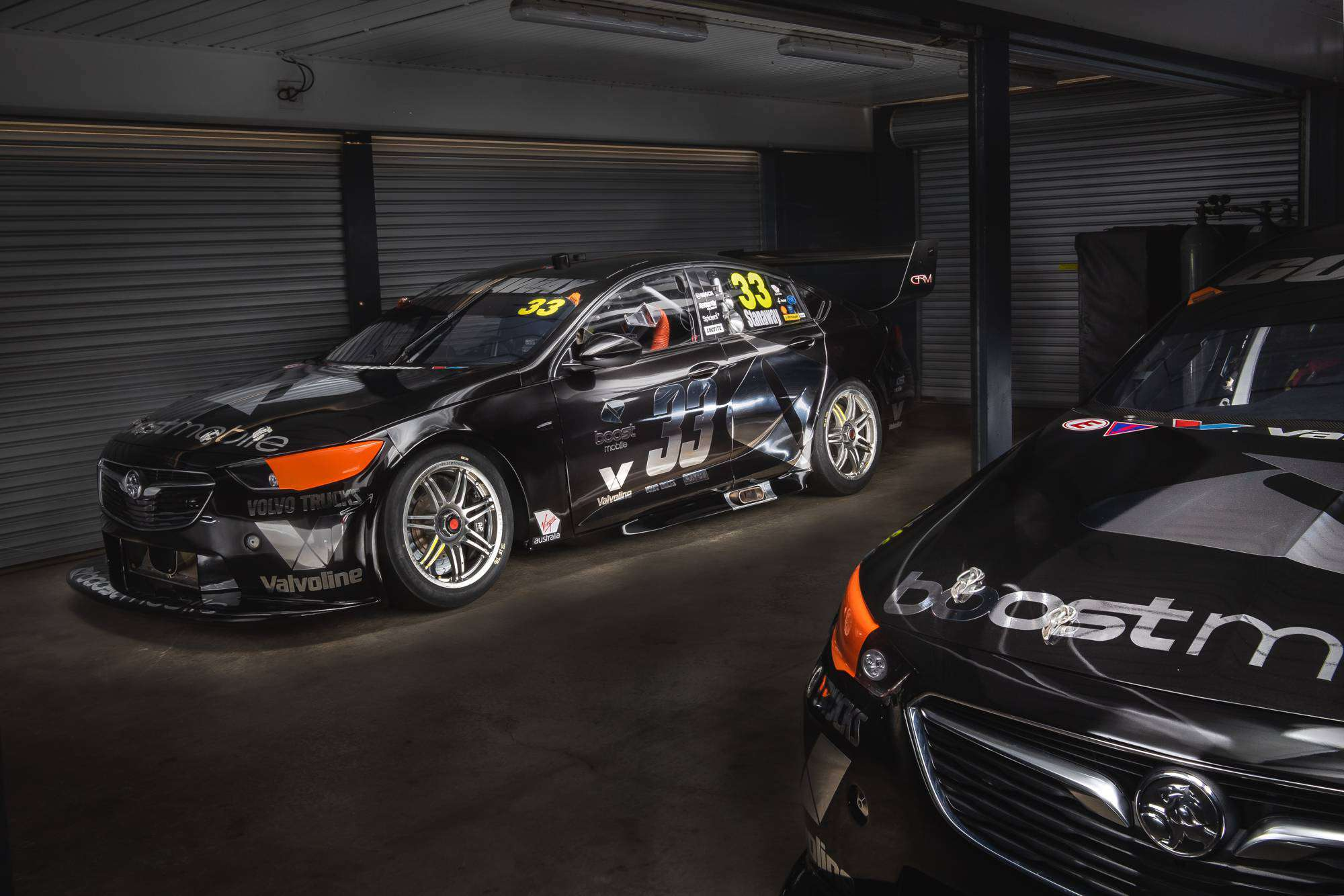 Boost Mobile Racing Unveils New Test Day Livery