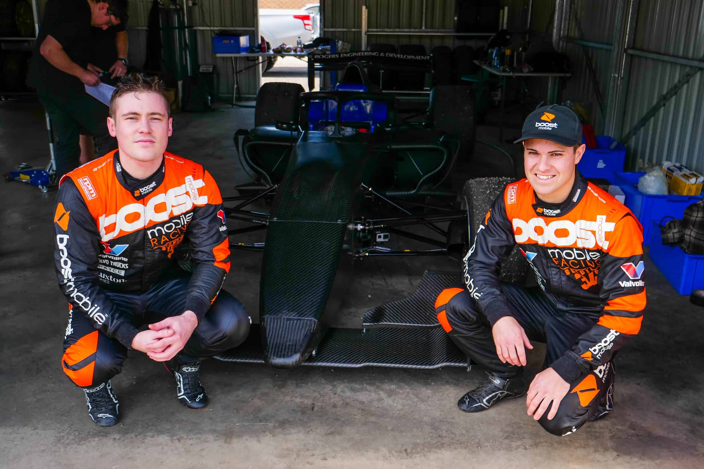 Richie Stanaway passes S5000 test with flying colours