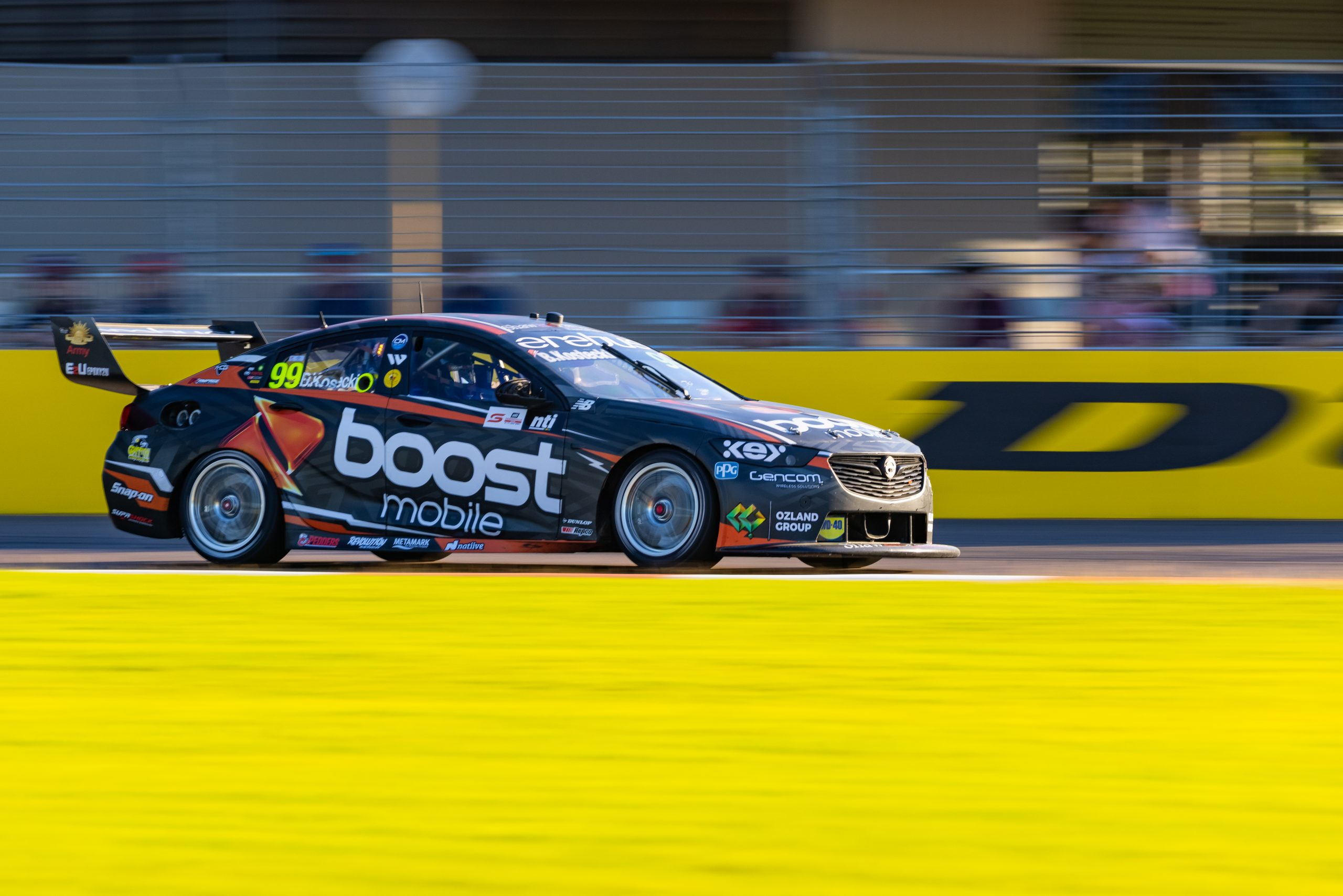 Mixed day of racing for Erebus at Townsville