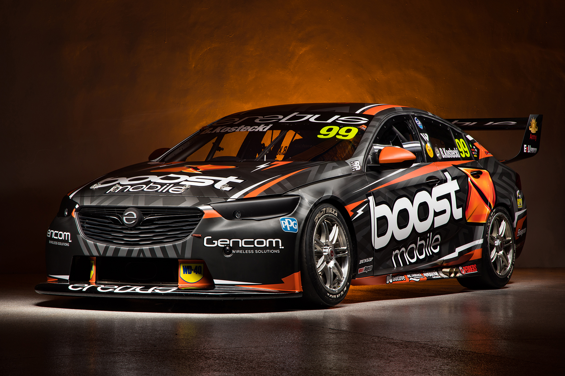 Brodie Kostecki and Erebus New Boost Mobile Ride.
