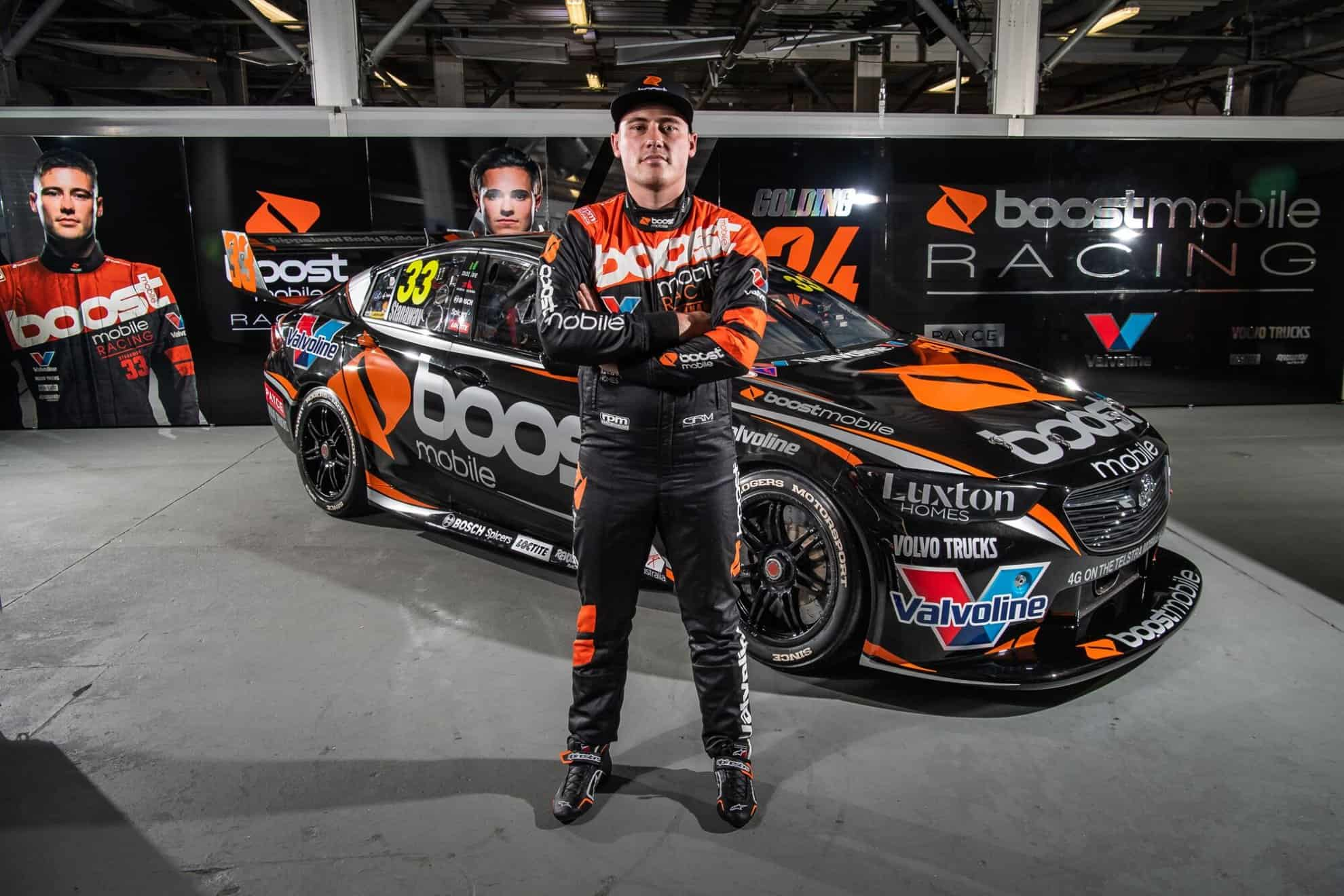 Boost Mobile Richie Stanaway